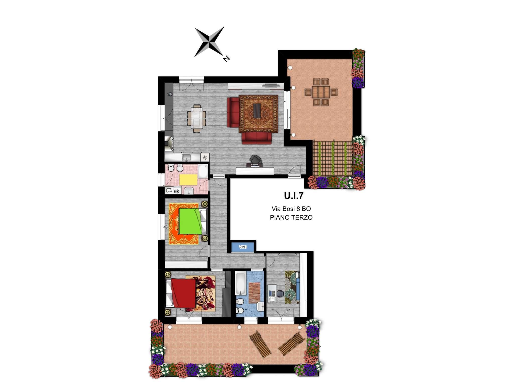 Interno 7 Appartamento a Bologna via Bosi